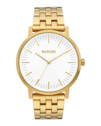 Nixon - White Wrist Watch for Men - Lyst