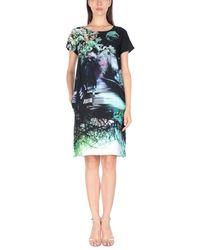 Mary Katrantzou - Black Short Dress - Lyst