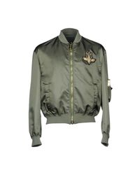 Les Hommes - Green Jackets for Men - Lyst
