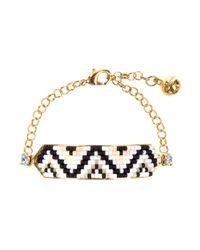 Shourouk - White Bracelet - Lyst