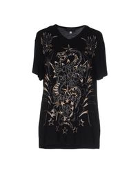 John Richmond - Black T-shirt - Lyst
