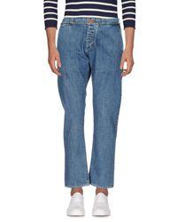 Bark - Blue Denim Pants for Men - Lyst