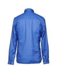 Save The Duck - Blue Jacket for Men - Lyst