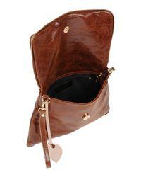GIADA PELLE - Brown Handbag - Lyst