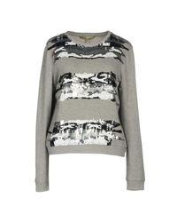Silvian Heach - Gray Sweatshirt - Lyst