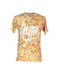Hype - Yellow T-shirt for Men - Lyst