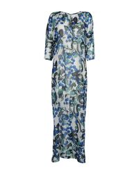 Daniela Fargion - Blue Long Dress - Lyst