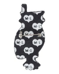 Macon & Lesquoy - Brown Brooch - Lyst