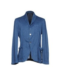 Cruciani Blue Blazer for men