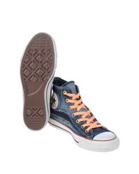 Converse - Blue High-tops & Sneakers - Lyst