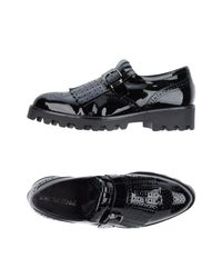 Loretta Pettinari - Black Loafer - Lyst