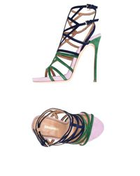 DSquared² - Blue Sandals - Lyst