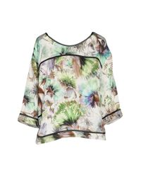 Shirtaporter - White Blouse - Lyst