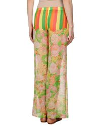 Versace - Green Casual Trouser - Lyst