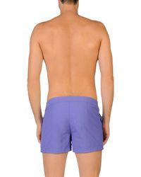 COAST SOCIETY - Purple Swim Trunks for Men - Lyst
