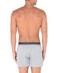 Emporio Armani - Gray Boxer for Men - Lyst