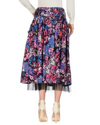 Marc Jacobs - Black Daisy Belted Skirt - Lyst