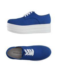 Fessura - Blue Low-tops & Sneakers - Lyst