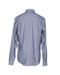Barbati - Blue Shirt for Men - Lyst