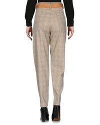 Souvenir Clubbing - Gray Casual Trouser - Lyst