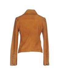 Vintage De Luxe - Brown Jacket - Lyst
