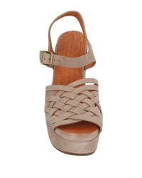 Chie Mihara - Gray Sandals - Lyst