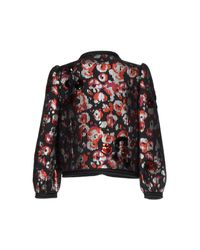 Marc Jacobs - Red Warped Flower Sequin Jacket - Lyst