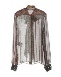 Saint Laurent - Multicolor Shirt - Lyst