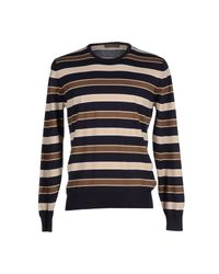 Cruciani - Blue Jumper for Men - Lyst