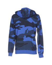 Hydrogen - Blue Sweatshirt for Men - Lyst