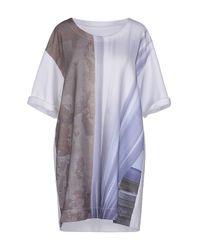 MM6 by Maison Martin Margiela - White Sweatshirt - Lyst