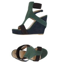 Dondup - Green Sandals - Lyst
