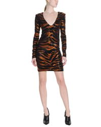 Balmain - Black Short Dress - Lyst