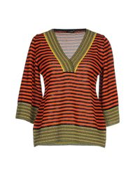 Neera - Orange Sweater - Lyst