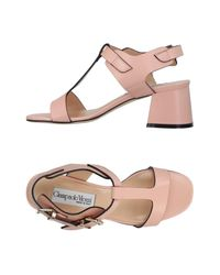 Giampaolo Viozzi Pink Sandals
