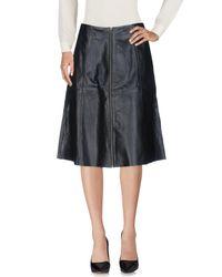 Muubaa - Black 3/4 Length Skirt - Lyst