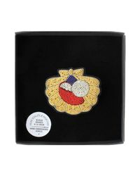 Macon & Lesquoy - Yellow Brooch - Lyst
