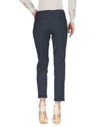 I Blues - Black Casual Pants - Lyst