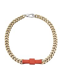Marc By Marc Jacobs - Orange Necklace - Lyst