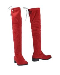 Divine Follie - Red Boots - Lyst