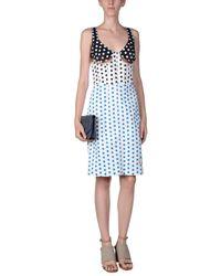 J.W. Anderson - White Knee-length Dress - Lyst