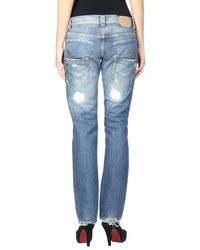 Dondup Blue Denim Pants