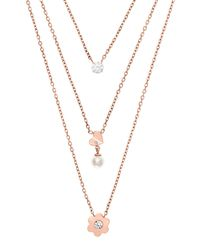Michael Kors - Metallic Necklaces - Lyst