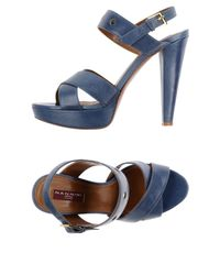 Nannini - Blue Sandals - Lyst