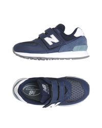 New Balance Blue Low-tops & Sneakers