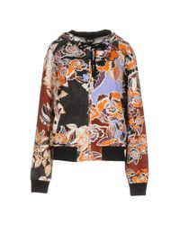 Just Cavalli | Orange Sweatshirts | Lyst