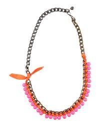 Lanvin | Multicolor Necklace | Lyst