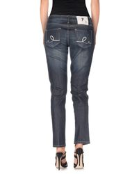 Seven7 Blue Denim Pants