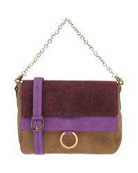 L'Autre Chose - Purple Cross-body Bag - Lyst