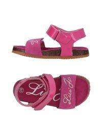 Liu Jo - Purple Sandals - Lyst